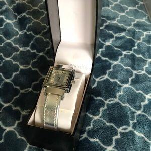 Women's silver watch